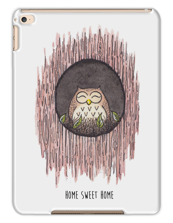 Owl At Home Sweet Home Tablet Cases
