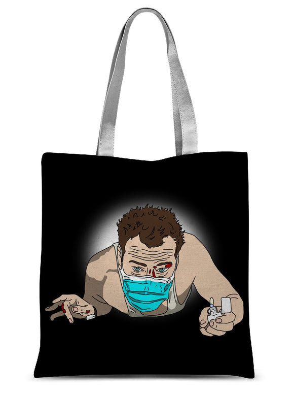 Die Hard Sublimation Tote Bag