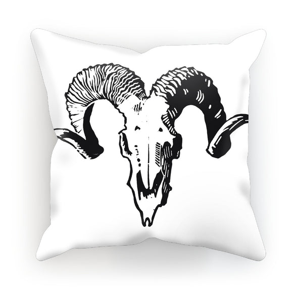 Sheep's Skull Cushion
