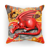 Idris The Fire Dragon Cushion