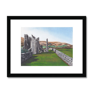 Llanthony Priory Framed Print