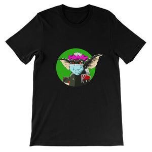 Stripe Gremlin Unisex Short Sleeve T-Shirt
