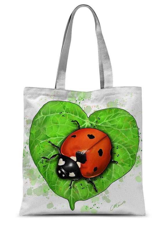 Ladybird Sublimation Tote Bag