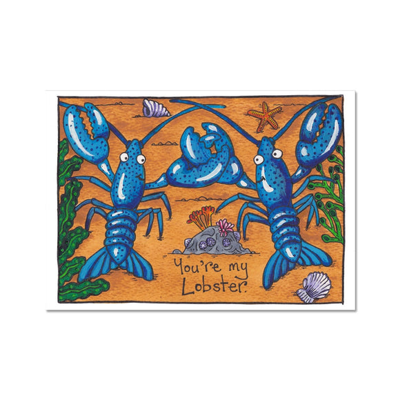You're My Lobster Fine Art Print