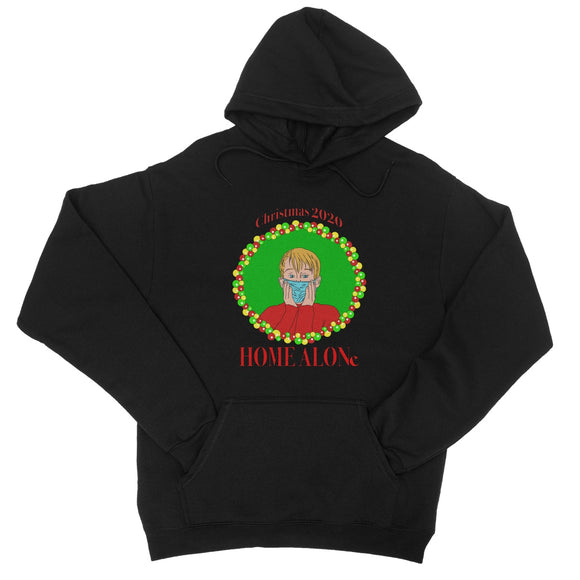 Christmas 2020 Home Alone College Hoodie