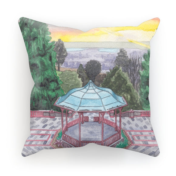 Bandstand Belle Vue Park Cushion