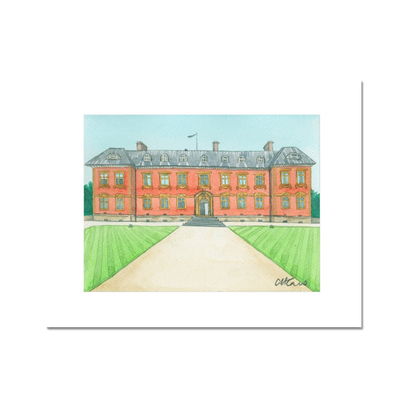 Tredegar House Rear Fine Art Print