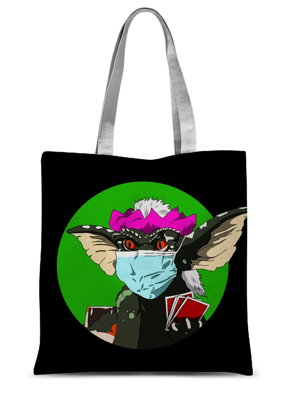 Stripe Gremlin Sublimation Tote Bag