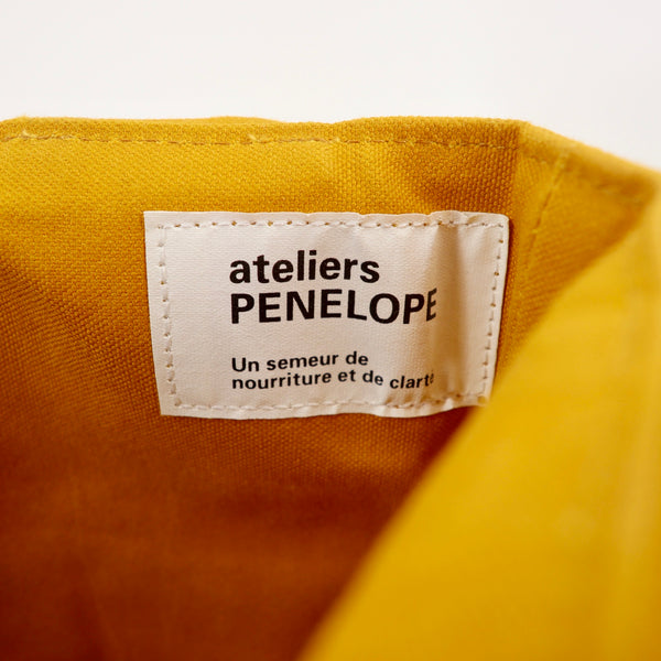 ateliers PENELOPE トートバッグ キャンバス オレンジ