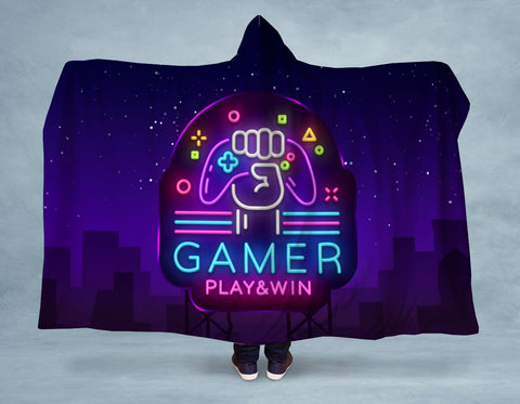Gamer Hooded Blanket 🇺🇸