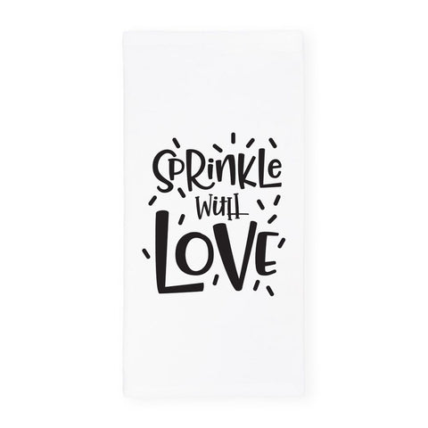 Sprinkle With Love Kitchen Tea Towel 🇺🇸