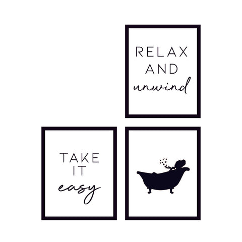 Relax Wall Art Collection 🇺🇸