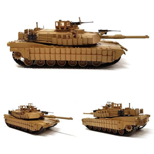1:35 US Army Main Battle Tank M1A2 ABRAMS TUSK II from ACADEMY