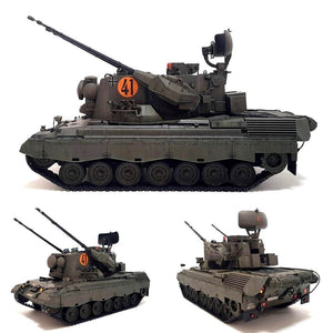 1:35 German Flakpanzer GEPARD A1/A2 from MENG