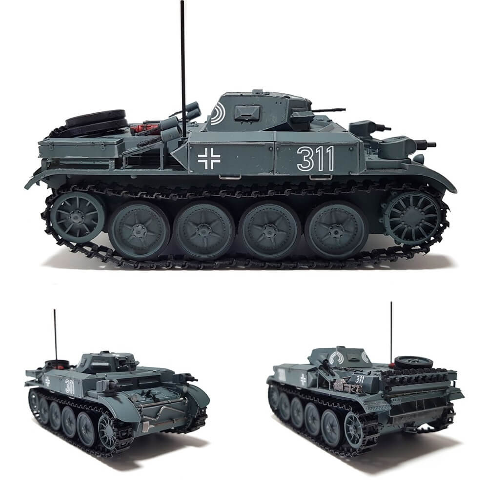 1:35 German Panzerkampfwagen II (Flamm) Ausf. E - Sd.Kfz.122 from BRONCO