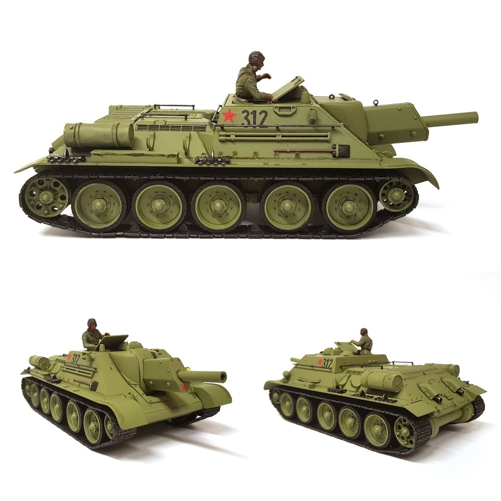 1:35 Soviet Tank Destroyer SU-122 from TAMIYA