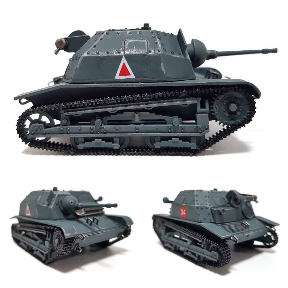 1:35 Polish TKS Tankette with 20mm NKM wz. 38 FK gun from RPM