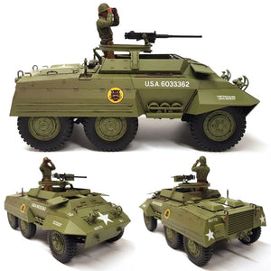 1:35 US Greyhound M20 Armored Utility Car from TAMIYA