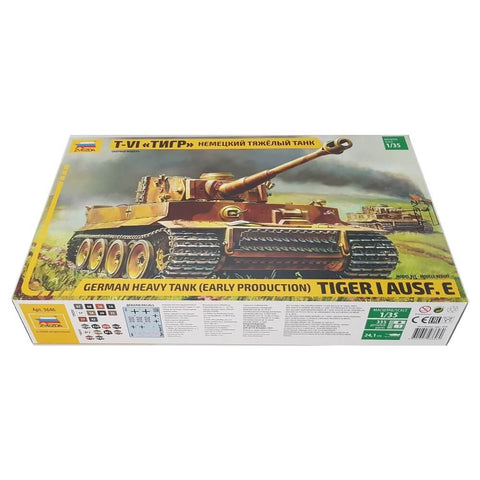 1:35 German Heavy Tank TIGER I Ausf. E - Early Production - ZVEZDA