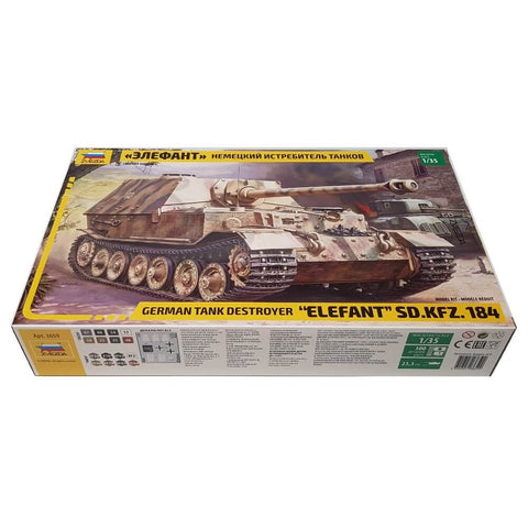 1:35 German tank destroyer ELEFANT Sd.Kfz. 184 - ZVEZDA