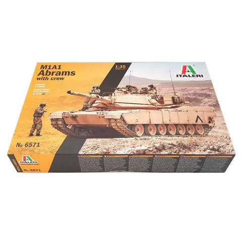 1:35 US Army M1A2 ABRAMS with Crew - ITALERI