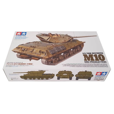 1:35 US Tank Destroyer M10 Mid Production - TAMIYA