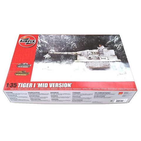 1:35 German TIGER I Tank Mid Version - AIRFIX