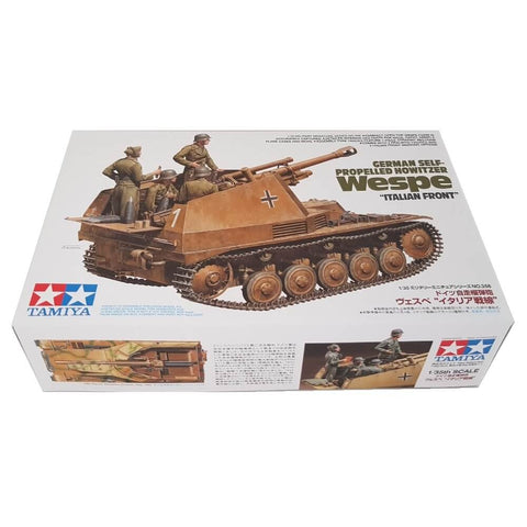 1:35 German Self-Propelled Howitzer WESPE Italian Front - TAMIYA