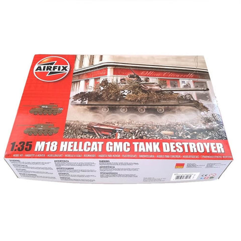 1:35 US M18 HELLCAT GMC Tank Destroyer - AIRFIX