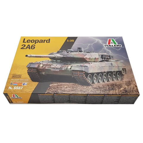 1:35 German LEOPARD 2A6 Main Battle Tank - ITALERI