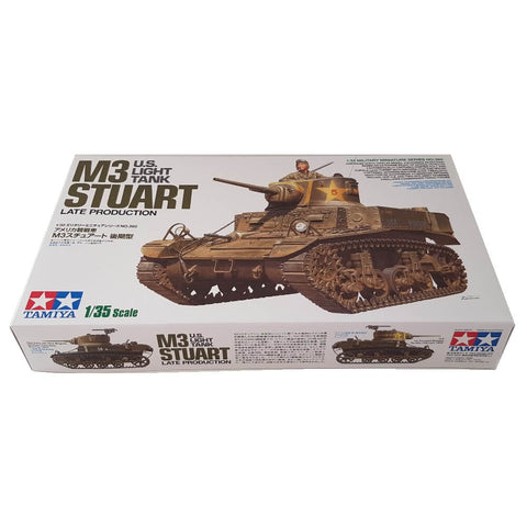 1:35 US Army Light Tank M3 Stuart Late Production - TAMIYA