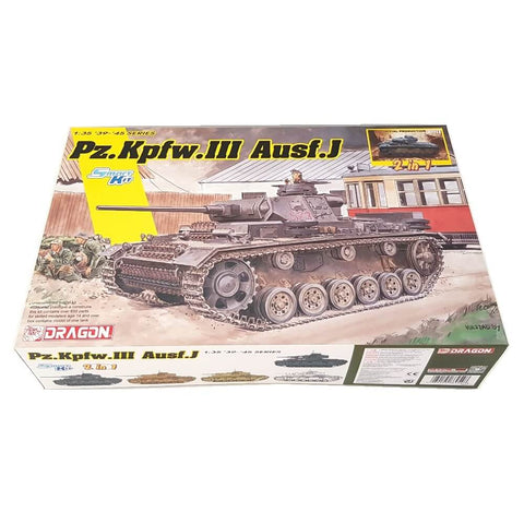 1:35 German Pz.Kpfw. III Ausf. J Initial Production / Early Production - DRAGON
