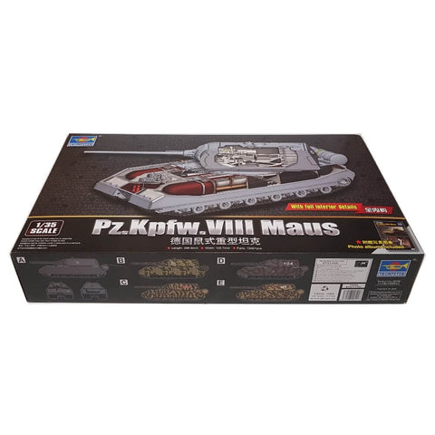1:35 German MAUS Pz.Kpfw. VIII with full Interior - TRUMPETER