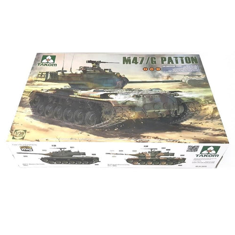 1:35 US Army M47/G PATTON Medium Tank - TAKOM