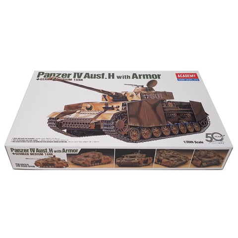 1:35 German PANZER IV Ausf. H with Armor - ACADEMY