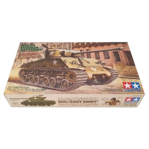 1:35 US Medium Tank M4A3E8 Sherman EASY EIGHT European Theater - TAMIYA