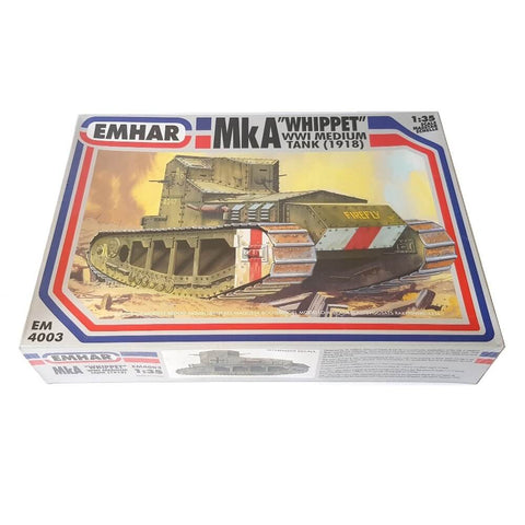 1:35 Mark A WHIPPET Medium Tank - EMHAR