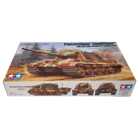 1:35 German JAGDTIGER Heavy Tank Destroyer Early Production - TAMIYA