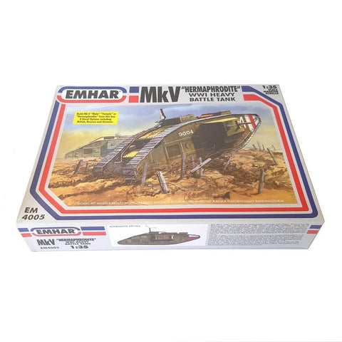 1:35 Mark V Male/Female Heavy Battle Tank - EMHAR