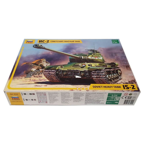 1:35 Soviet IS-2 (Iosif Stalin) Heavy Tank - ZVEZDA