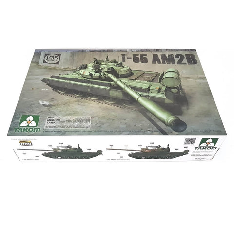 1:35 DDR T-55 AM2B Medium Tank - TAKOM