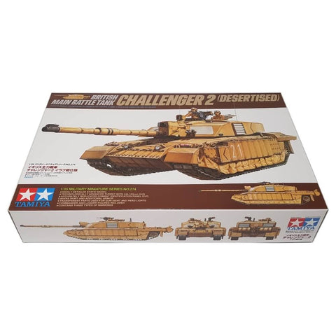 1:35 British Main Battle Tank CHALLENGER 2 DESERTISED - TAMIYA