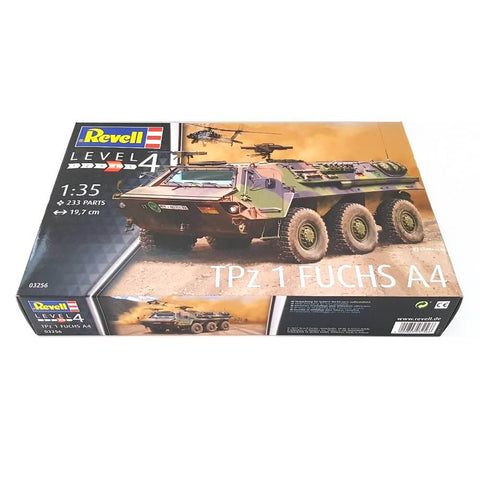 1:35 German TPz 1 FUCHS A4 Armoured Personnel Carrier - REVELL