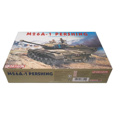 1:35 US M26A-1 PERSHING Heavy Tank - DRAGON