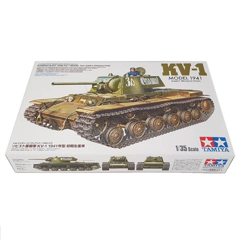 1:35 Russian Heavy Tank KV-1 Model 1941 Early Production - TAMIYA