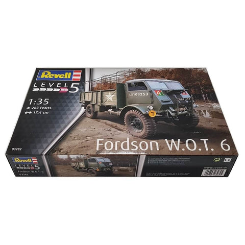 1:35 British Army Truck FORDSON Model WOT 6 - REVELL