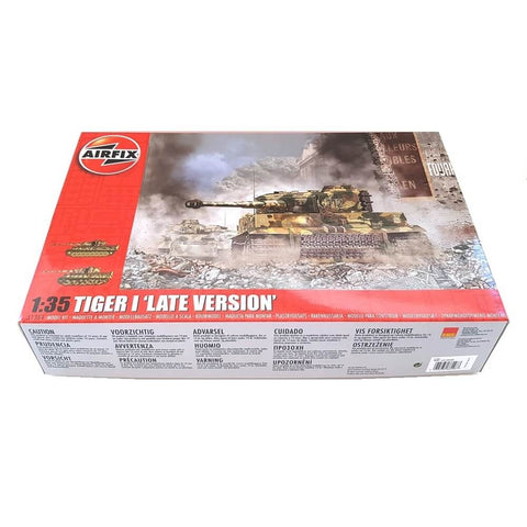 1:35 German TIGER I Tank Late Version - AIRFIX