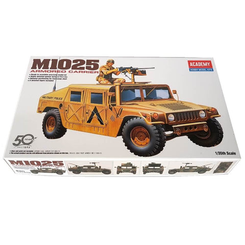 1:35 US Army M1025 HUMVEE Armored Carrier - ACADEMY