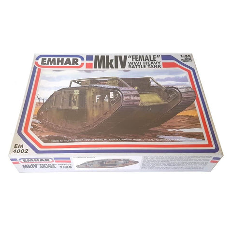 1:35 Mark IV Female Heavy Battle Tank - EMHAR