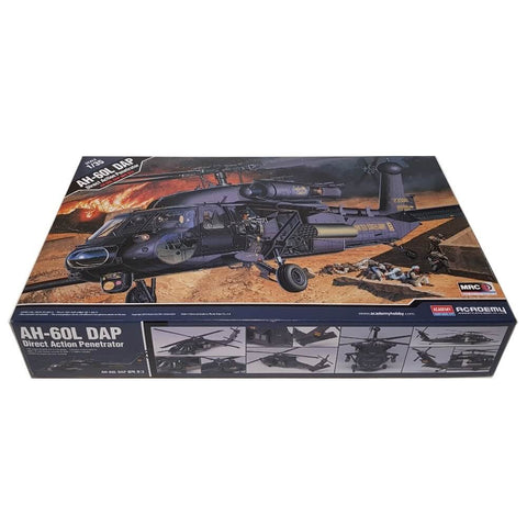 1:35 US Army AH-60L DAP Direct Action Penetrator Helicopter - ACADEMY